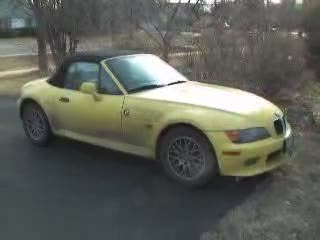 Before the car got a bath - z3 roadster from:DotComd